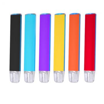 1500 Puffs LED Glowing Plug and Play Disposable Electronic Cigarette, Wholesale Disposable Vape Pen