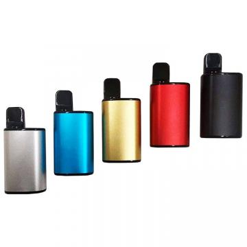Rechargeable Use up Your Oil Cbd Disposable 510 Battery Cartridge